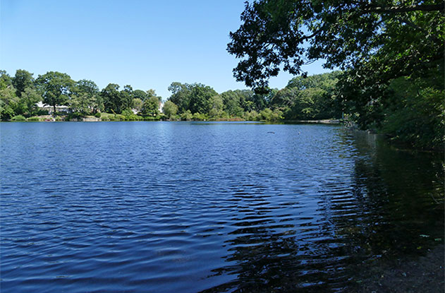 Sand Pond, Warwick RI